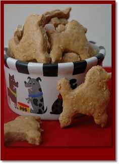 Cinnamon Dog Cookie Recipe Homemade dog treats vegan dogs can have a banana to sub for egg and coconut milk or water.