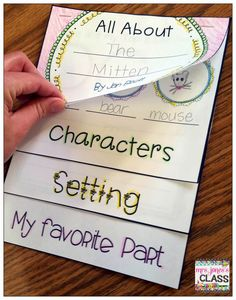 Nice share. A flip book to identify the parts of a story. www.dillpurplegeniuses.com