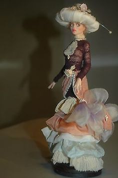 Isobel  OOAK  doll sculpture by Tatiana Canini IADR