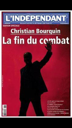 En une de L'Indépendant aujourd'hui > le décès de Christian #Bourquin. pic.twitter.com/CDiKw2d0j Une lourde perte pour la région