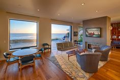 Hill Construction Company La Jolla  San Diego Custom Home Alluring La Jolla Living Room Design Inspiration