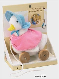 jemima puddle duck - Corey had this as a baby!