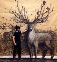 Illustrations en relief de Fiona Tang