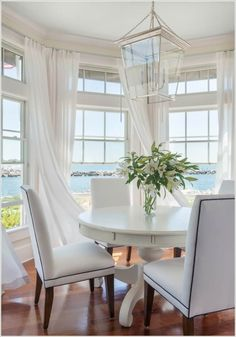 Windows are a gateway to the outside world and if you cover them with thick fabrics then your room will look dark and even more small. So, what you can do is to go for sheer drapes to allow maximum light inside and also you will be able to have outside views.