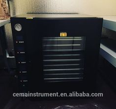 7.8Plus Vacuum Oven w/ 5 Heated Shelves, St. St. Tubing & Valves