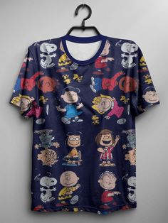 Camiseta Peanuts Characters