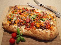 La 3C : Pizza Colorée au Canard Confit sur Wikibouffe