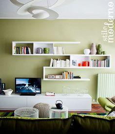 Il colore delle pareti per lo stile moderno