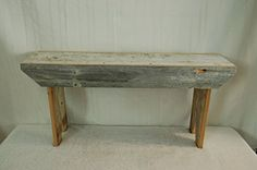 Amish Wares Barn Wood Bench, 3-Foot, Color May Vary KENZIE'S STARS AND GIFTS http://www.amazon.com/dp/B00A4V1FJ0/ref=cm_sw_r_pi_dp_QYh4wb1VADWX9