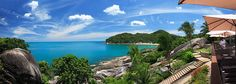 The Cliff Bar & Grill   Koh Samui - what a view!