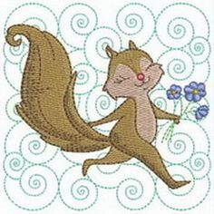 Quality Machine Embroidery Designs At Affordable Prices Machine Embroidery Designs, Quilt Blocks, Squirrel, Quilts, Blanket, Disney Characters, Art, Art Background, Squirrels