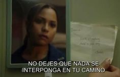 "Chicago Fire. Gabriela Dawson. ""Don't let anything stand in your way. -Jones"". 2x19 A Heavy Weight."