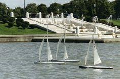 Belle Isle Fountain Lagoon