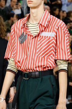 Lanvin Spring 2017 Menswear Fashion Show Details - Vogue