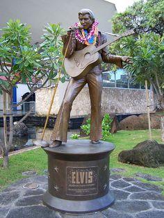 Elvis Statue Honolulu, Hawaii
