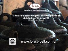 Panelas de Barro originais das Paneleiras de Goiabeiras. www.lojasbibeli.com.br/panelas-de-barro