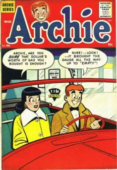 Community Post: 31 Totally Wearable Vintage Archie Comics Looks For Girls Comics Und Cartoons, Archie Comics Characters, Archie Comic Books, Vintage Comic Books, Vintage Comics, Vintage Art, Archie Comics Riverdale, Book Cover Art, Comic Book Covers