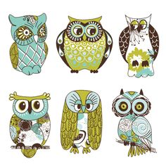 Cute Owl Cartoon Wallpaper | picturespider.com
