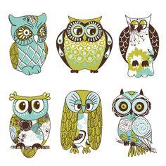 Cute Cartoon Owls | Owl Cute Cartoon Wallpaper Pictures