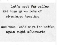 Love coffee. Love adventures.