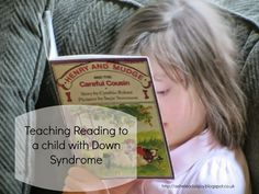 As He Leads is Joy: Teaching Reading to a child with Down Syndrome