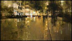 10 Brooding Cityscapes by Jeremy Mann