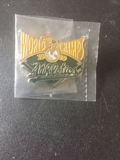 1989 World Series Champions Oakland A's Pin Shipping is to the US only I can combine shipping on multiple wins World Series Winners, Hat Pins, Athletics, Mlb, Sports, Hs Sports, Sport