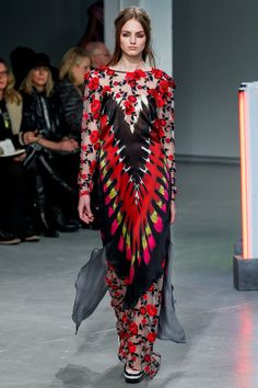 Rodarte Fall 2013 Ready-to-Wear Fashion Show - Agne Konciute