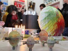 Великодні свічкові майстер-класи