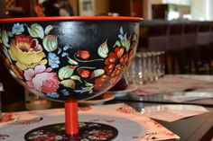 Punch bowl for Beverage Ritual at Renaissance Moscow Monarch Center Hotel