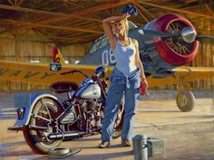 Collection of Aviation Pin Up and Nose Art copyrights belong to their respective owners. These are...