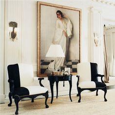 | EA | Antique with Modern Ralph Lauren Antique Modern Chairs.