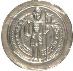 Pfennig (Brakteat) Otto, Markgraf von Meißen (1125-1190)|Münzherr Meißen, o.J. (1156 - 1190) Münzkabinett Material and Technique Silber, geprägt Measurement Durchmesser: 37,8 mm; Gewicht: 1,03 g