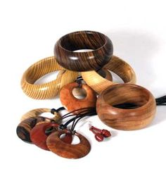 Turned Jewellery - The Woodworkers Institute