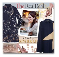 Holiday Sparkle With The RealReal: Contest Entry Chic Statement by milva-bg on Polyvore featuring Valentino, MSGM, Alexander Wang, Chanel, La Hormiga and Roberto Coin