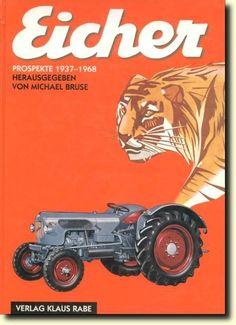 traktoren  werbung hatz | Eicher Prospekte 1937-1968 - Oldtimer Buchhandel