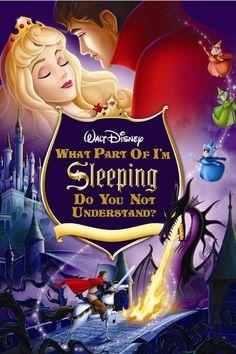 LOL: If Classic Disney Movie Posters Were Brutally Honest - DesignTAXI.com