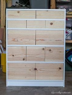 As a Homeright Brand Ambassasor, they oftentimes challenge us to create something new out of something ordinary.  This month's challenge was the take a basic IKEA Billy Bookcase and turn it into so…