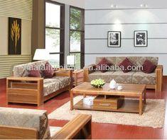 Source Living room Fabric furniture sofa , living room furniture nature solid wood sofa set furniture on m.alibaba.com