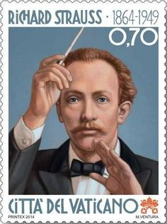 Stamp to honor Richard Strauss' 150th birthday
