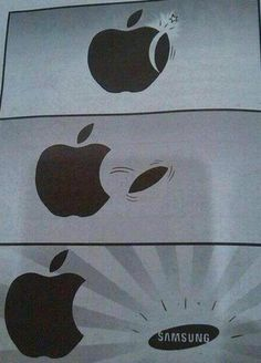apple and samsung funny memes in to make laugh. Visit once, u can see more funny joke pics here Minion Humour, Funny Minion Memes, Funny School Jokes, Very Funny Jokes, Really Funny Memes, Crazy Funny Memes, Funny Facts, Hilarious, Funny Humor