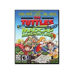 New Legacy Interactive Software Tuttles Madcap Misadventures Explore Exotic Locales Hidden Treasure. Join the Tuttles on their hilarious and heartwarming family road trip!  Play 40 levels of side-scrolling fun.  Hundreds of lines of dialogue voiced by Hollywood's hottest talent.  Starring the voices of Ashley Tisdale, William Shatner, Jamie Lee Curtis, Bob Saget, and Dominic Scott Kay.  Play as each member of the Tuttles family.  Avoid man-eating plants, coconut throwing monkeys, UFO's and more