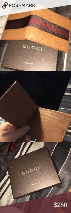Gucci wallet Brown leather Gucci Accessories Money Clips