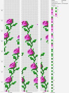 15 around bead crochet pattern Loom Bracelet Patterns, Peyote Stitch Patterns, Bead Crochet Patterns, Seed Bead Patterns, Bead Crochet Rope, Beaded Jewelry Patterns, Weaving Patterns, Beaded Crochet, Free Crochet