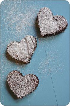 I Love You Brownies by Lemon Sugar {www.lemon-sugar.com}