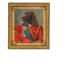 Win a Hand Painted Royal Portrait of Your Pet from Princely Pawtraits