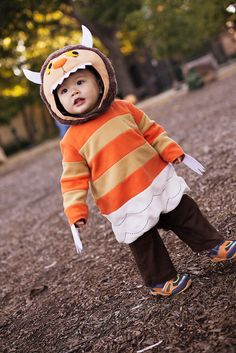 cute & little blog   halloween 2013   dylan 16 months   where the wild things are monster costume