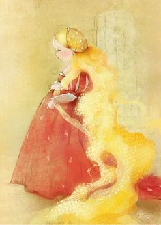"Екатерина Бабок (Ekaterina Babok), ""Рапунцель"" (""Rapunzel"")"