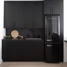 Ugh I lied..... Not over matte black... Absolutely dying over this kitchen. @JDPinteriors