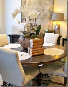 What's New Wednesday: Distressed copper dining table. Available through Heather Scott Home & Design.